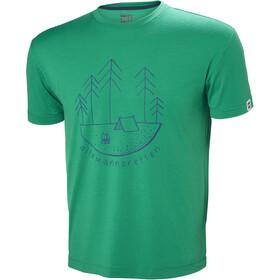 Helly Hansen Skog Graphic T-Shirt Men pepper green